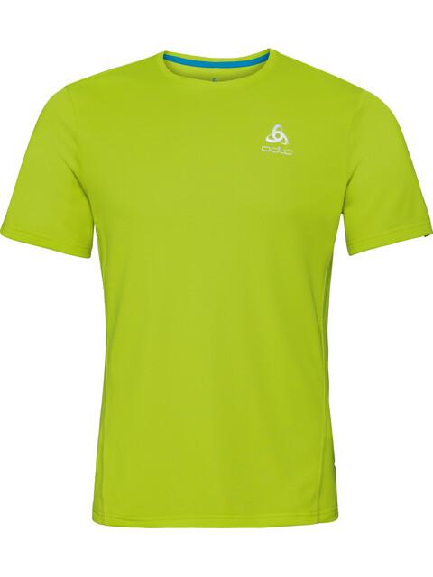 Odlo Sliq Crew Neck SS Shirt Men acid lime